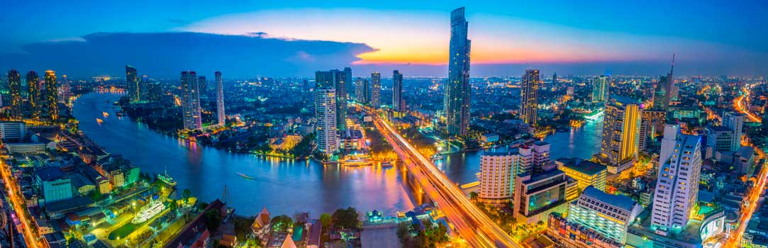 Bangkok is the most populous and capital of Thailand with a total population of 5,696,409 inhabitants.