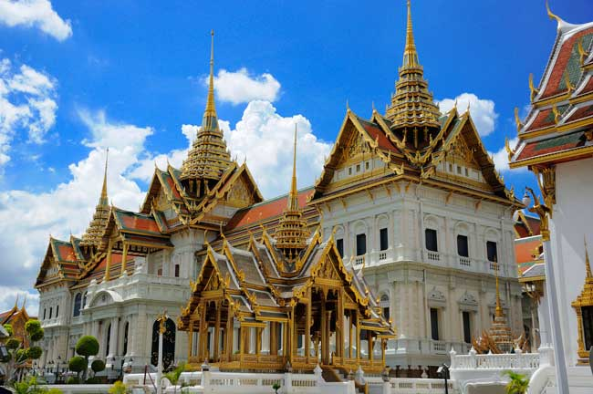The Grand Palace is one of the most popular places to visit in Bangkok.